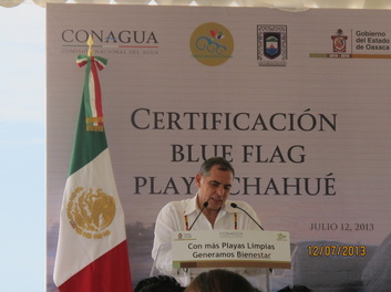 Remarks from the Governor of Oaxaca.
